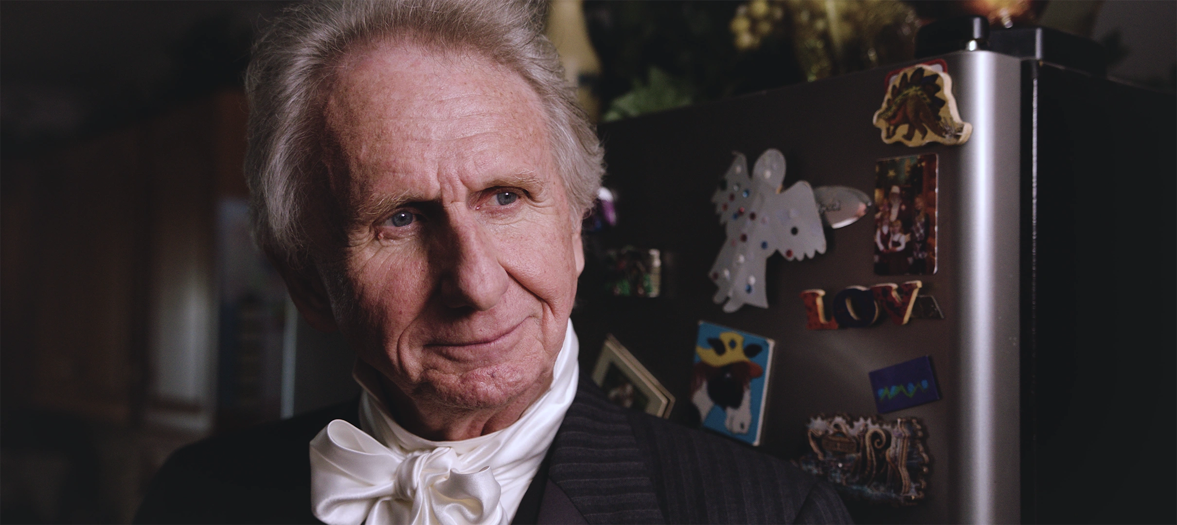 "René Auberjonois as President James Buchanan in ""Raising Buchanan"""