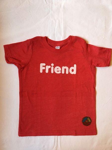 Friend Vintage Red