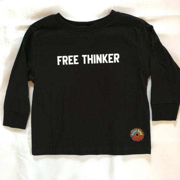 FREE THINKER long sleeve