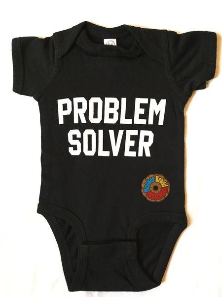 PROBLEM SOLVER onesie