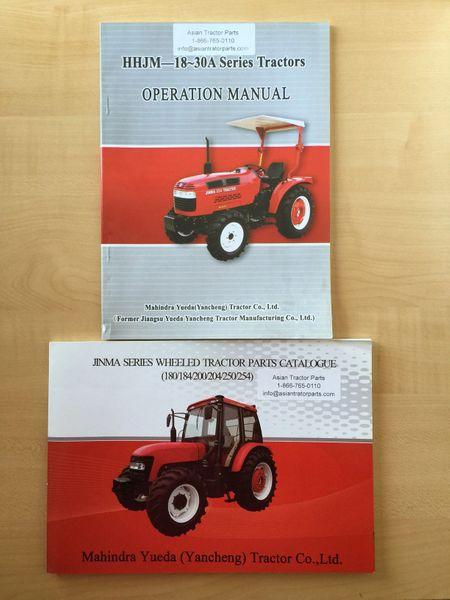Jinma 200 Series Manual Asian Tractor Parts
