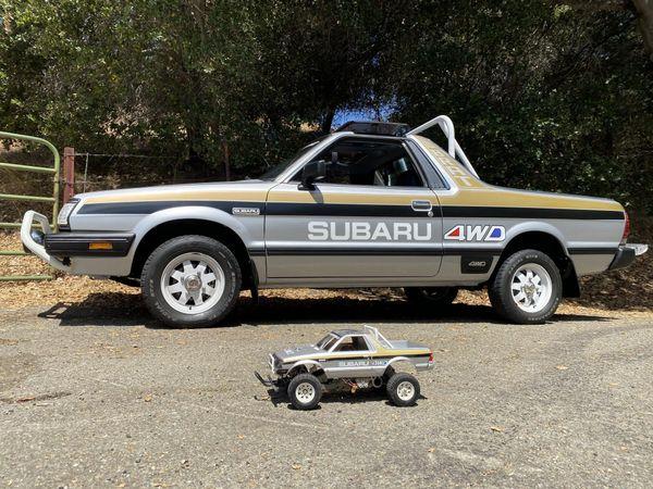 Life Size Subaru BRAT Gen 2 RC Graphics