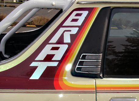 Full Color Subaru BRAT Stripes 77-81