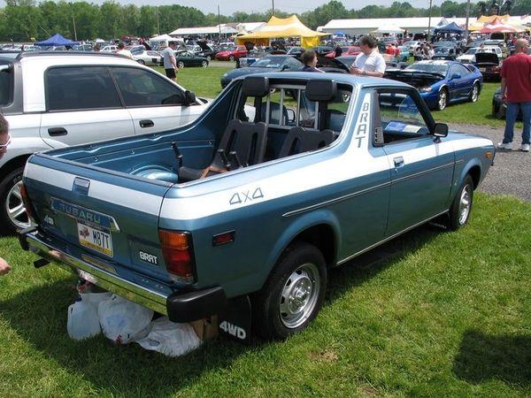 Subaru BRAT Full Stripe Set (77-81)