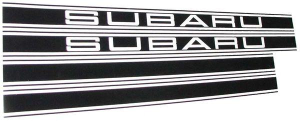 Subaru GL DL Gen 1 & 360 lower Rally Stripes Option 1