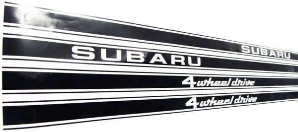 Subaru GL DL Gen 1 & 360 lower Rally Stripes Option 4