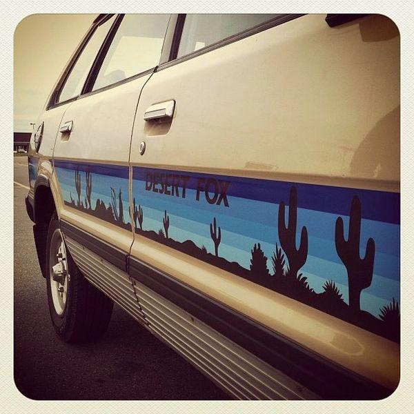 Gen 2 Desert Fox Stripe Kit for BRAT - Wagon - Hatch - Coupe - Sedan