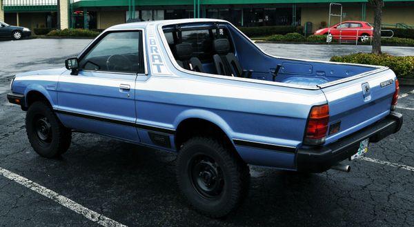 Subaru BRAT Full Stripe Set (82-93)