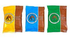 3pcs 2oz Gourmet Coffee Sampler Pack 6oz - Make 36-48 Cups