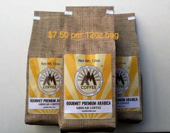 36oz Gourmet Premium Arabica Ground Coffee - 3 12oz Bags