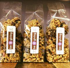 reverse granola: pecan + oat + dark choc *GF *V