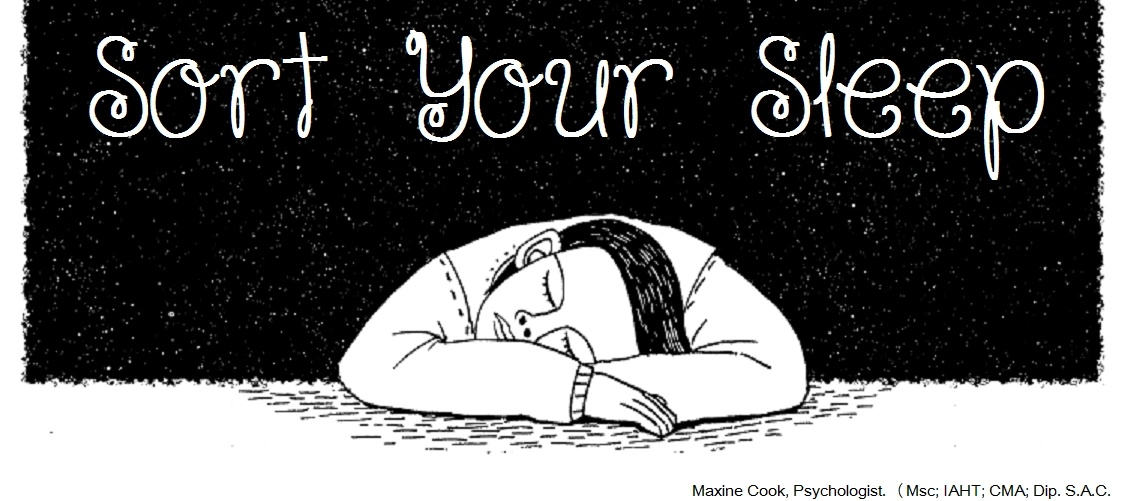 "Maxine Cook ""Sort Your Sleep"""