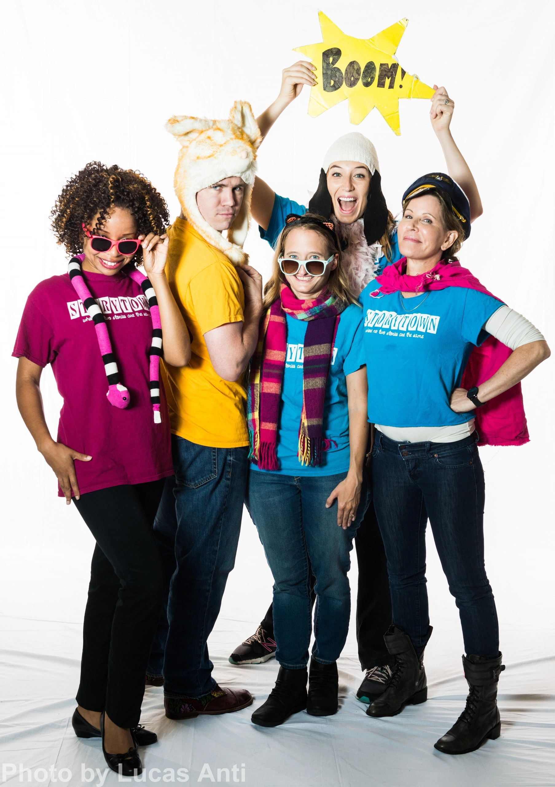 Storytown Improv's townies performs live improvised musical children's theater in Chicago