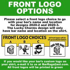 BAR NAME AND FRONT LOGO CHOICE