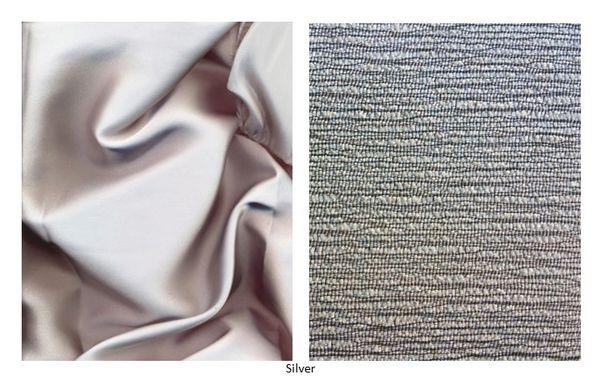 Satin And Riviera Texture Metallic Round Tablecloths