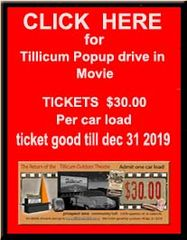 tillicum drive in admission ticket