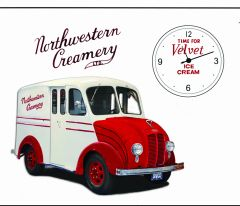 northwestern milk truck t shirt
