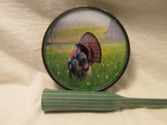CAMO PLASTIC POT TURKEY CALL