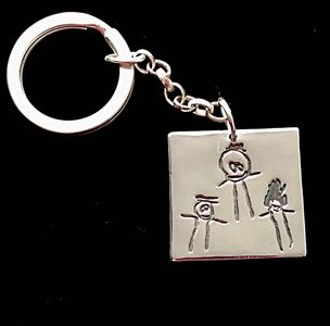 Childrens' drawing keepsake. Personalized keepsakes. Special presents. Bespoke gifts for special occ