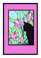 Sympathy Card Cat.