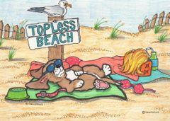 Postcard –Topless.