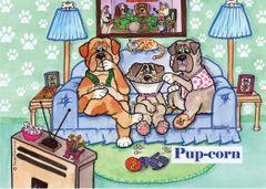 Postcard –Pupcorn.