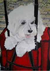 "8""x 8"" Custom Pet Portrait."
