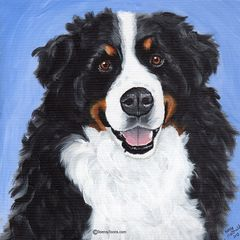 "12""x 12"" Custom Pet Portrait."