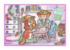 Greeting Card - Tea Time.