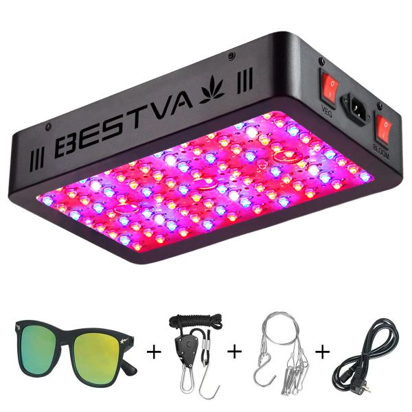 Bestva 1200w Led Grow Light Full Spectrum For Indoor
