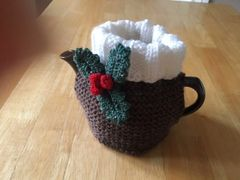 Christmas Pudding 2 Cup Tea Cosy