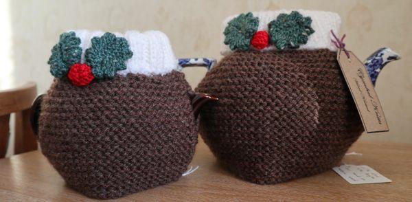 Christmas Pudding Teacosy 4-6 cup