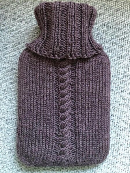 Hotwater bottle, cable 1l