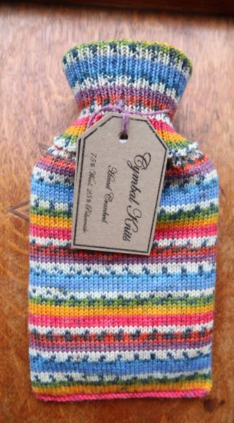 Hotwater bottle 500ml Red Yellow Gree