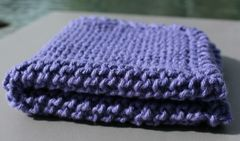 Lilac Cotton Dishcloth