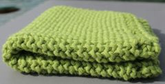Olive Cotton Dishcloth