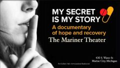 My Secret Is My Story, Friday June 21 at 7:00 pm