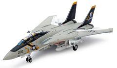 Tamiya Grumman F-14A Tomcat Plastic Model Kit (TAMS1114)