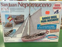 San Huan Nepomuceno Wood Ship Model Kit (LATB8010)