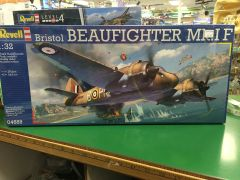 Revell Bristol Beaufighter MKIF 1/32 Plastic Model Kit (RVLS4889)