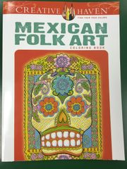 Mexican Folk Art Coloring Book (DOV49451-9)