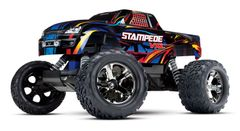 Traxxas Stampede VXL 1/10 Scale 2WD Monster Truck (TRA36076-4)