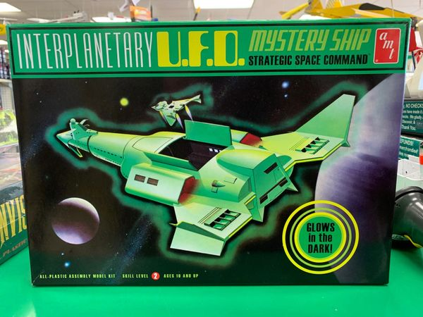 Interplanetary U.F.O. Mystery Ship Kit