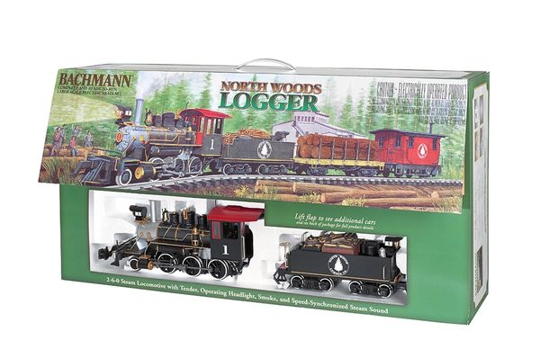 Bachmann North Woods Logger Train Set