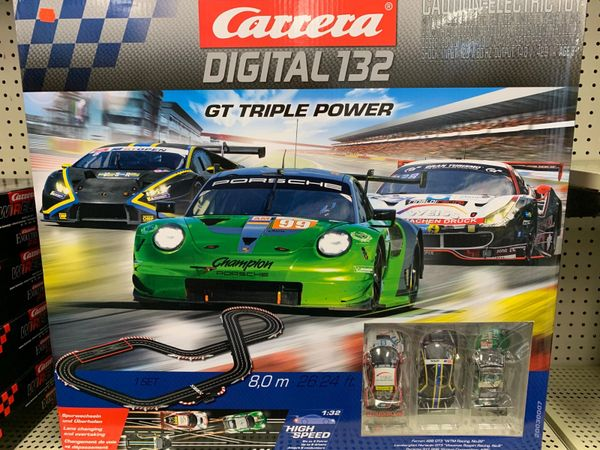 Carrera GT Triple Power Race Set Digital 132