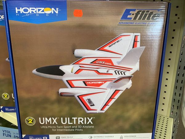 UMX Ultrix Ultra Micro Twin Sport & 3D Airplane (Intermediate pilots)