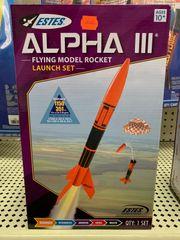 Alpha III Rocket Launch Set