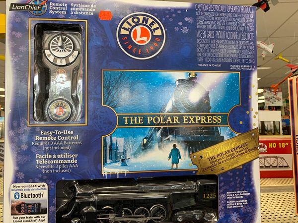 Lionel Lionchief Polar Express O-Guage Train Set