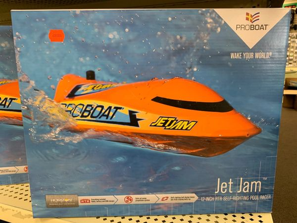 "Jet Jam 12"" Self-Righting Pool Racer RC Boat"