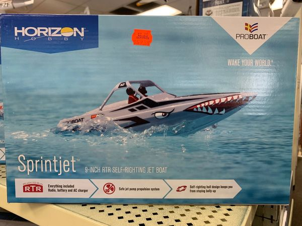 "Sprintjet 9"" TRT Self-Righting Jet Boat"